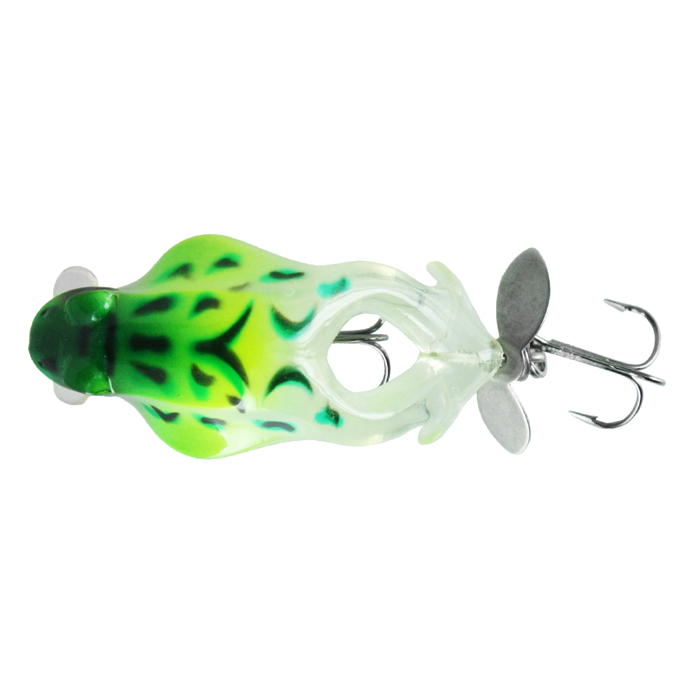 Воблер Trout Pro Big Frog Crank 60, цвет B14Воблеры<br>Уникальная приманка для ловли в заросших <br>водоёмах. Её движения имитируют уставшую <br>или неосторожную лягушку, которыми не брезгует <br>щука.<br>