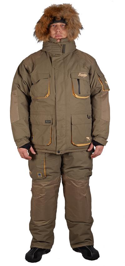 Комплект рыболовный зимний ALASKAN пух+noron Костюмы утепленные<br>Комплект рыболовный зимний ALASKAN пух+noron <br>(куртка+брюки)<br><br>Пол: мужской<br>Размер: XL<br>Сезон: зима<br>Цвет: оливковый