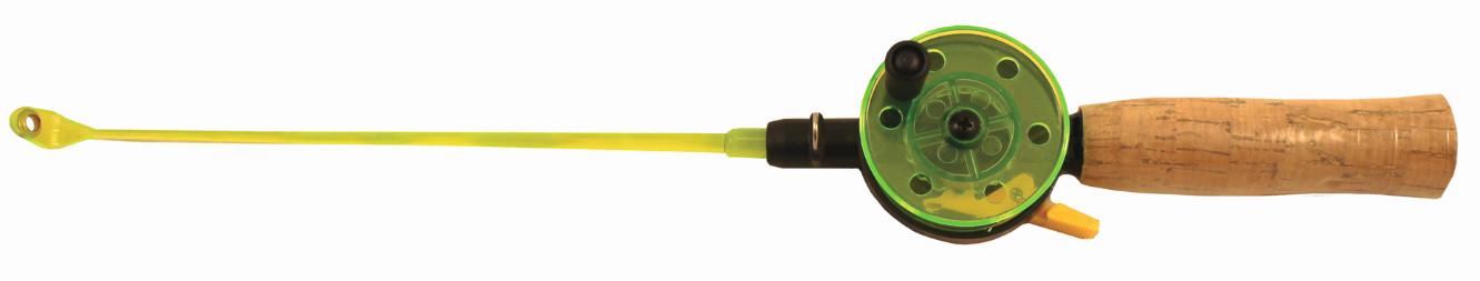 Удочка зимняя SWD HR105A (d 54мм,ручка пробк 10см, Удочки зимние<br>Зимняя удочка SWD с открытой катушкой диаметром <br>54мм и клавишным стопором. Пластиковый хлыст <br>длиной 20см с тюльпаном на конце. Ручка из <br>пробки длиной 100мм.<br>