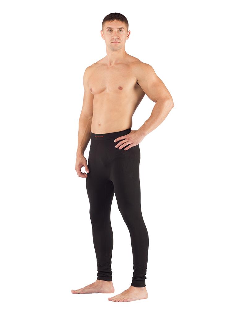 Штаны мужские Lasting Ateo, черные АвантмаркетКальсоны<br>Описание штанов Lasting Ateo: Мужские бесшовные <br>термоштаны анатомического кроя. В состав <br>материала входит 97% силтекса (полипропилен), <br>3% еластана, эта смесь обеспечивает быстрое <br>испарение пота и идеальную сухость Вашей <br>кожи во время занятий спортом или другой <br>подвижной деятельностью, а также улучшает <br>вентиляцию тела. Материал отлично растягивается. <br>Белье имеет анатомически расположенные <br>зоны в местах повышенной потливости. Всесезонное <br>термобелье, которое прекрасно подойдет <br>для спорта (бег, тренажерный зал т.д.), для <br>катания на лыжах, а также для альпинизма. <br>Особенности: - мужское термобелье - тонкий <br>плоский шов - двухслойная кулирная вязка <br>- быстро сохнет - защитная зона - предотвращает <br>ускоренный износ в местах повышенной подвижности <br>- бесшовная вязка* Применение: треккинг, <br>зимние виды спорта, альпинизм, занятия спортом <br>Материалы: 97% силтекс (полипропилен), 3% эластан(Lycra)Рекомендуется <br>покупать в комбинации с термофутболкой <br>Apol Таблица размеров мужского (unisex) термобелья <br>Lasting Размер M L XL XXL Рост 165 - 170 171 - 175 176 - 180 181 <br>- 185 Обхват груди 92-96 96-104 104-108 108-112 Обхват <br>талии 84-90 91-96 97-103 104-110 Обхват бедер 90-94 94-98 <br>98-104 104-108 Длина штанины 100 103 107 110<br><br>Материал: {синтетика, плотность 150 г/м2}