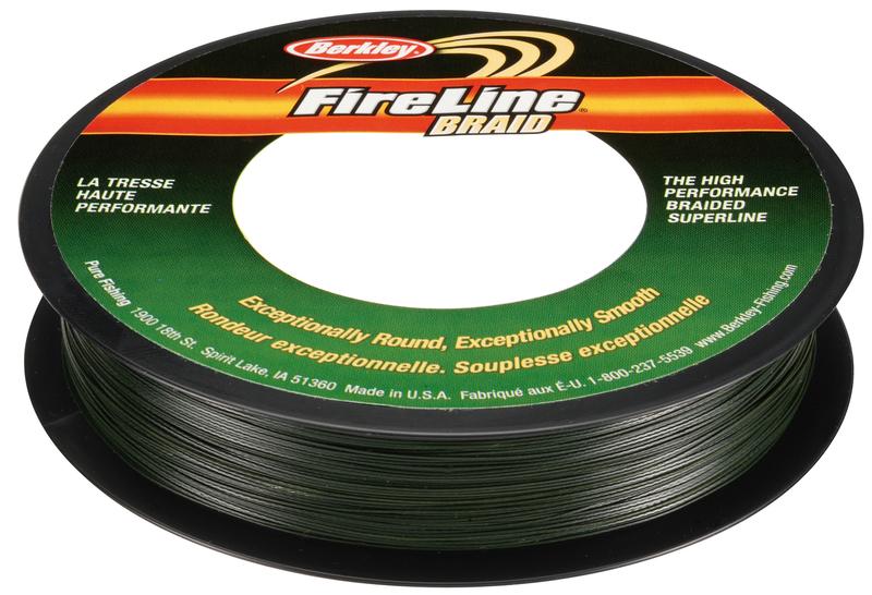 Леска плетеная BERKLEY FireLine Braid 0.45mm (110m)(62.9kg)(зеленая)Леска плетеная<br>Шнур исключительно гладкий и круглый в <br>сечении, позволяет выполнять дальние забросы <br>и самое главное – удивительно прочный. <br>Цвет зеленый.<br>