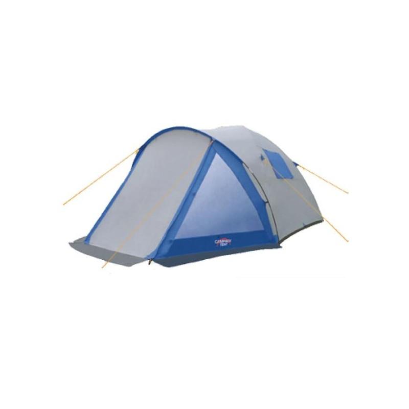 Палатка туристическая CAMPACK-TENT Peak Explorer 5Палатки<br>Палатка для семейного отдыха. Увеличенные <br>размеры, большие окна, дополнитель- ный <br>пол в тамбуре – все это позволяет ощутить <br>больше комфорта во время отдыха на природе. <br>Высокопрочное дно изготовлено из армированного <br>полиэтилена, не про- пускает влагу и устойчиво <br>к истиранию. Качественный каркас изготовлен <br>их фибер- гласса и обеспечивает надежность <br>и устойчивость. Палатка оснащена увеличенны- <br>ми вентиляционными окнами и двухслойной <br>дверью с цветными молниями. Внешнее крепление <br>третьей дуги, значительно облегчает установку <br>палатки. Внутри палатки имеется подвеска <br>для фонаря и карманы для хранения мелочей. <br>Модель Peak Explorer имеет два раздельных входа. <br>Основной вход надежно защищен боковыми <br>тентовы- ми «крыльями», которые предотвращают <br>задувание холодного воздуха. А прозрачные <br>окна со «шторками», помогут регулировать <br>освещенность в палатке. Проклеенные швы <br>гарантируют герметичность и надежность <br>в любой ситуации. Ткань тента:190T P. Taffeta PU <br>3000MM Ткань палатки:170T P. Taffeta + MESH Ткань дна:Tarpauling <br>Вес: 8,5 кг Дуги: 9,5мм и 11мм Ремнабор: Самоклеющиеся <br>заплатки 100 х 100 мм из ткани 190T P. Taffeta PU 3000MM<br>
