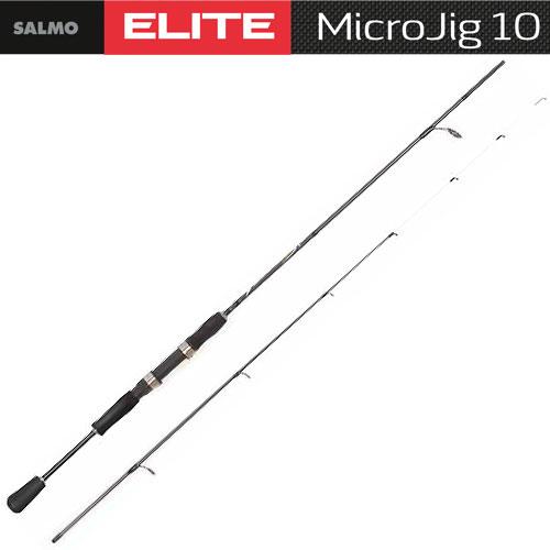 Спиннинг Salmo Elite Micro Jig 10 2.00Спинниги<br>Удилище спин. Salmo Elite MICRO JIG 10 2.00 дл.2.00м./вес93г/тест2-10/кол.секц2/дл.тр.105см <br>Серия спиннинговых удилищ быстрого строя <br>для ловли на мелкие джиг-приманки класса <br>Light. Бланки выполнены из графита IM7 с установкой <br>на них облегченных колец со вставками SIC, <br>по новой концепции. Отличная балансировка, <br>особо чувствительная цельная графитовая <br>вершинка не позволяет остаться незамеченными <br>даже самым деликатным поклевкам. Рукоятка <br>из материала EVA с катушкодержателем Fuji DPS. <br>Материал бланка удилища - углеволокно (IM7) <br>Строй бланка быстрый Класс спиннинга L Конструкция <br>штекерная Соединение колен типа Over Steek Кольца <br>пропускные: - облегченное большое - со вставками <br>SIC - с расстановкой по новой концепции Рукоятка: <br>- разнесенная из материала EVA Катушкодержатель: <br>- винтового типа Проволочная петля для закрепления <br>приманок<br><br>Сезон: лето
