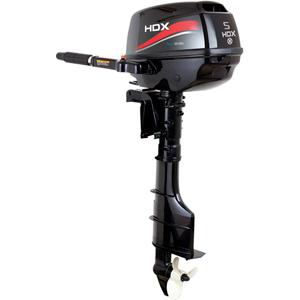 Лодочный мотор HDX F 5 BMSЛеска плетеная<br>Для тех, кто при выборе подвесного лодочного <br>мотора ориентируется на качество, надёжность <br>и экономичность, но не хочет при этом переплачивать, <br>мы предлагаем широкую линейку четырехтактных <br>подвесных лодочных моторов HDX.<br>