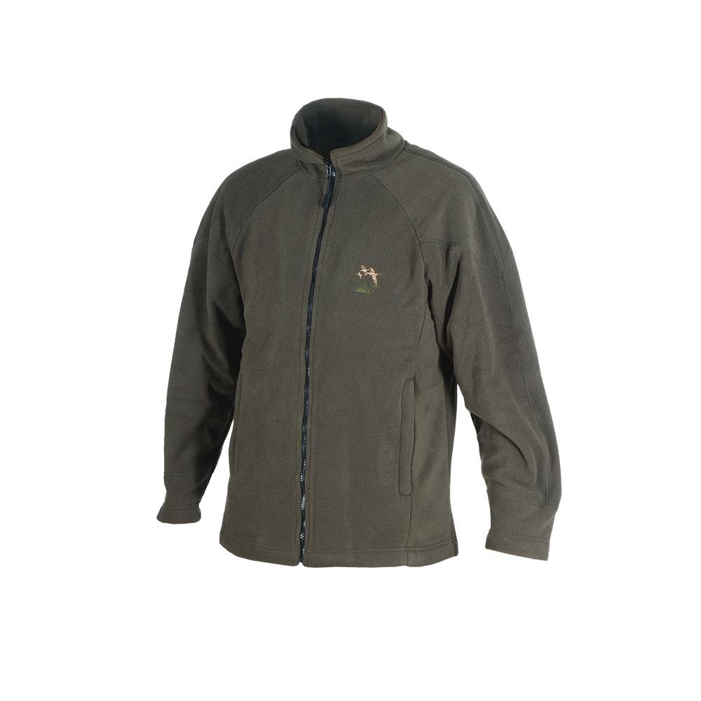 Куртка ХСН флис (Хаки, 54 - 56 / 188, 762-6)Куртки флисовые<br>Отлично подходит для прогулок ранней осенью <br>и идеально подходит в качестве дополнительного <br>утеплителя зимой. Подходит для использования <br>при разных погодных условиях как для охоты <br>так и для активного отдыха. Комфортная температура <br>эксплуатации: от 0°С до +15°С. Особенности: <br>- хорошо сохраняет тепло; - застегивается <br>на молнию; - 2 боковых кармана; - высокий воротник.<br><br>Пол: мужской<br>Размер: 54 - 56 / 188<br>Сезон: демисезонный<br>Цвет: оливковый<br>Материал: поларфлис