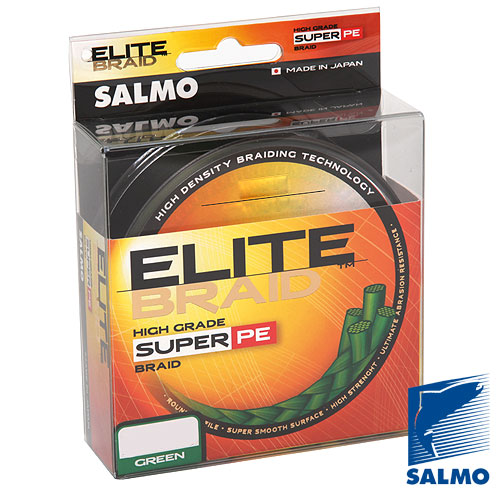 Леска Плетёная Salmo Elite Braid Green 125/040 4814-040