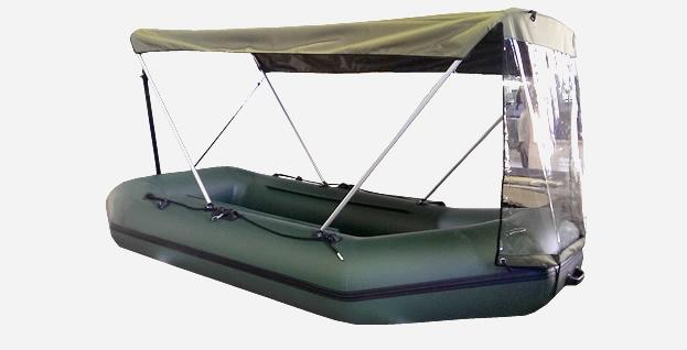 Тент крыша универсальный к лодке Компакт Ремкомплекты и принадлежности<br>Тент крыша для лодки с установочным комплектом.<br>