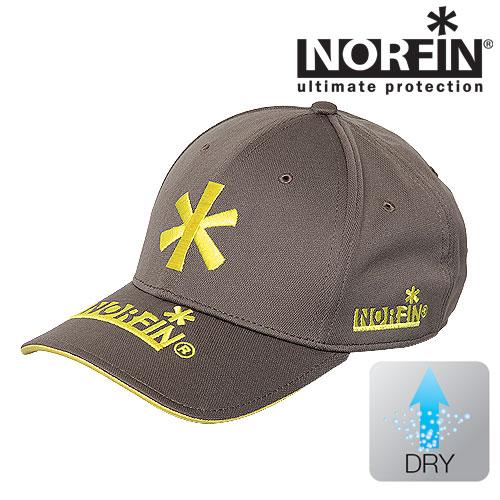 Бейсболка NorfinБейсболки<br>Легкая бейсболка, идеальна для лета. Особенности: <br>- возможность регулировки размера; - быстро <br>сохнущий материал.<br><br>Пол: унисекс<br>Сезон: лето<br>Цвет: серый<br>Материал: текстиль