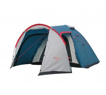 Палатка Canadian Camper RINO 4 (цвет royal дуги 9,5 мм)Палатки<br>Особенности: - увеличенный тамбур; - 4 входа.<br><br>Сезон: лето<br>Цвет: синий