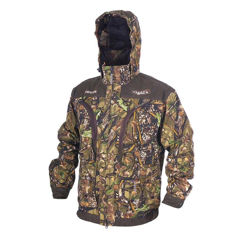 Куртка ХСН «Ровер-рыбак» (9791-2) (Лес, 54 - 56 Куртки неутепленные<br>Идеально подойдет любителям рыбалки и <br>активного отдыха. Куртка изготовлена из <br>специального материала с содержанием хлопка, <br>который не шуршит при движении. Ткань обработана <br>водоотталкивающей тефлоновой пропиткой <br>для защиты от влаги. Особенности: - регулируемый <br>несъемный капюшон с противомоскитной сеткой; <br>- 10 шт. объемных карманов, в том числе под <br>рыболовные коробки; - особый крой рукавов, <br>обеспечивающий свободу движения; - манжеты <br>на пуговицах с возможностью регулировки <br>ширины; - специальная усиленная ткань на <br>плечах; - двойной джинсовый запошивочный <br>шов.<br><br>Пол: мужской<br>Размер: 54 - 56 / 176<br>Сезон: лето<br>Цвет: коричневый<br>Материал: Хлопкополиэфирная ткань