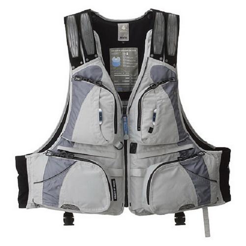 Жилет Daiwa Плавающий XVX XF - 3012 Gray LLГрузила<br>Спасательный жилет с отстегивающейся подкладкой, <br>и карманами для мелочей.<br>