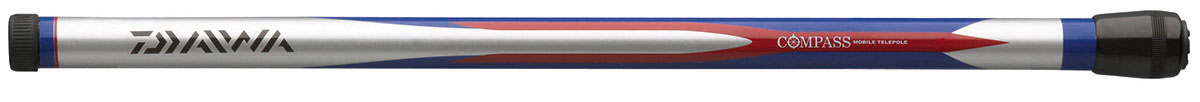 Удилище б/к DAIWA Compass Mobile Telepole 4,00мУдилища поплавочные<br>Телескопические маховые удилища с короткими <br>коленами. В собранном состоянии длина составляет <br>всего 40 см, что позволит вам взять удилище <br>в любое путешествие. Бланк из графитового <br>материала делает удилище легким, но исключительно <br>прочным.<br>