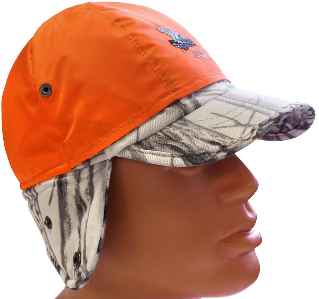 Бейсболка ХСН д/с сигнальная (9609-4) (Белый Бейсболки<br>Бейсболка отлично подойдет охотникам, <br>т.к. обеспечит безопасность на охоте. Отлично <br>подходит для ношения осенью и зимой. Комфортная <br>температура эксплуатации от +5°С до -15°С. <br>Особенности: - удобная и многофункциональная <br>модель; - объем регулируется застежкой-липучкой; <br>- трансформируется, благодаря опускающимся <br>и поднимающимся ушкам.<br><br>Пол: мужской<br>Размер: 61-62<br>Сезон: демисезонный<br>Материал: Хлопкополиэфирная ткань