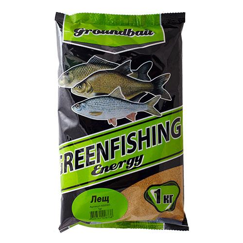 Прикормка Gf Energy Лещ 1.000КгПрикормки<br>Прикормка GF Energy ЛЕЩ 1.000кг пакет 1кг/ароматика: <br>специализированная/цвет: желтый «Greenfishing <br>Energy»- новая серия первоклассной прикормки <br>от Компании «Энергия», созданная по оригинальному <br>рецепту, с использованием только лучших <br>ингредиентов от ведущих производителей <br>РФ и Европы. Это тяжелая прикормка с мелкой <br>и средней фракцией, ароматы и цвет ярко <br>выраженные, очень стойкие за счет использования <br>оригинальных технологий и современного <br>оборудования, выходит в виде целевых прикормок, <br>в каждой из которых тщательным образом <br>подобран состав, цвет и аромат к тому или <br>иному виду рыб и условиям ловли. Состав: <br>Бисквит, лен, конопля, кукуруза, злаковые, <br>сахар, соль, утяжелитель, куркума, специи, <br>пеллетс, пищевой краситель, ароматизаторы.<br><br>Сезон: лето