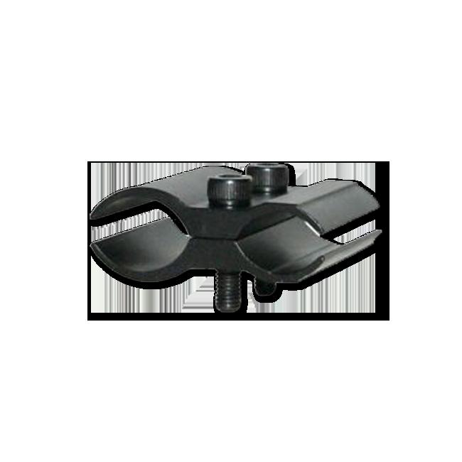Крепление к оружию 2 половинки алюминиевое Аксессуары к фонарям<br>Недорогое, надежное универсальное крепление, <br>состоящее из двух половинок, которое позволяет <br>устанавливать на различные виды оружия <br>тактические фонари. Кронштейн изготовлен <br>из авиационного алюминия, который имеет <br>стойкое к механическому воздействию и истиранию <br>анодированное покрытие. Модель станет прекрасным <br>помощником для охотников и любителей страйкбола.Подходит <br>для гладкоствольного оружия.Размеры:Длина: <br>44 ммШирина: 45 ммВысота: 18 мм<br>