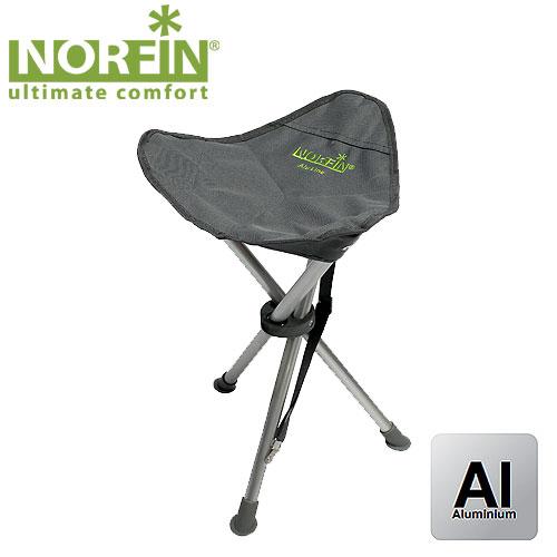 Стул Складной Norfin Odda Nf АлюминиевыйСтулья, кресла<br>Стул тренога складной. Очень легкий и компактный. <br>Идеально подойдет для походов, экспедиций, <br>активного отдыха. Особенности: - габариты <br>31x31x43 см; - размер в сложенном виде 55x8x6 см; <br>- максимальная нагрузка 100 кг; - каркас алюминий <br>19 мм.<br><br>Цвет: серый<br>Материал: 600D polyester