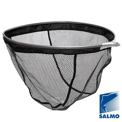 Голова Подсачка Salmo 45Х55См ПрорезиненнаяПодсачеки<br>Голова для подсачка Salmo 45х55см прорезинен. <br>разм.45х55см/яч.0.3х0.6см/мат.полиэстер прорезинен. <br>Голова для подсачка с прорезиненной сеткой, <br>которая меньше травмирует рыбу и облегчает <br>процесс извлечения зацепившихся крючков.<br><br>Сезон: Летний