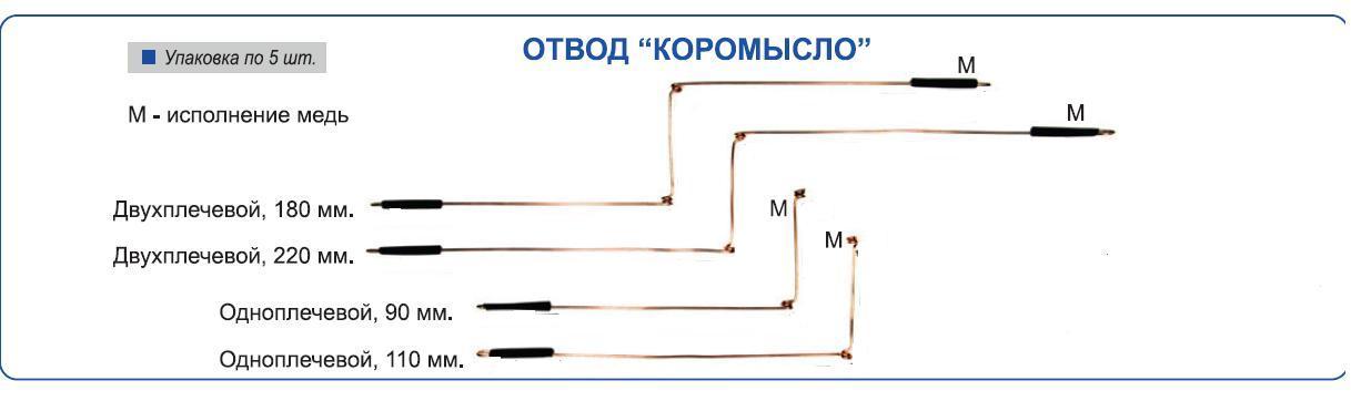 Отвод Коромысло одноплечевой 110мм омеднен. Коромысла, противозакручиватели<br>Используется для оснащения донных монтажей <br>и карповых оснасток, или для отвесной ловли.<br>