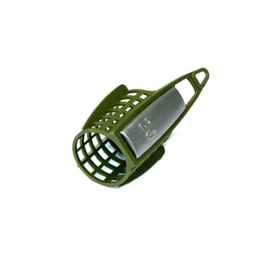 Кормушка Фидерная Salmo Бол. Пласт. 040ГКормушки, груза, монтажи донные<br>Кормушка фидер. Salmo бол. пласт. 040г диам.35мм/дл.50мм/вес <br>40г/мат.пласт./кол в уп.10 Кормушка для ловли <br>рыбы со дна с использованием прикормки. <br>Кормушка изготовлена из пластика и оснащена <br>грузом из свинца. Обладает аэродинамической <br>формой, что позволяет делать дальние забросы. <br>В ассортименте представлены кормушки как <br>для ловли в стоячей воде, так и на течении.<br><br>Сезон: Летний