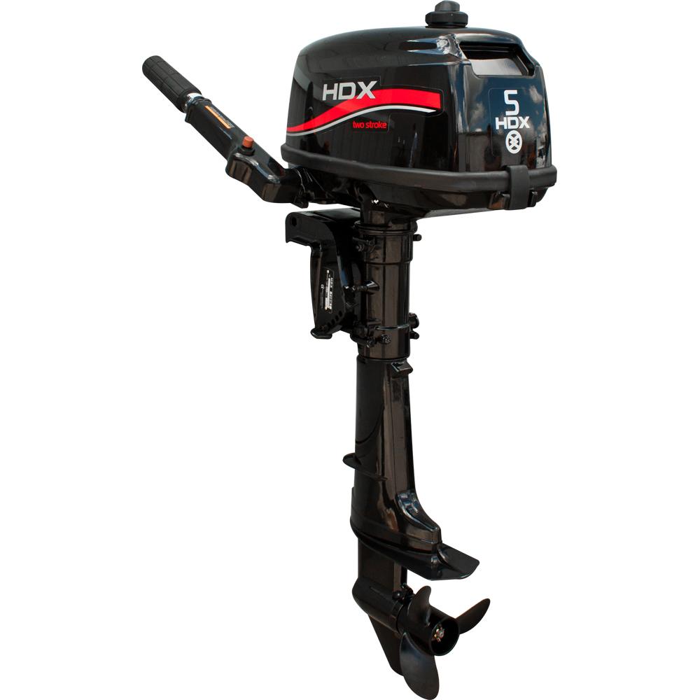 Лодочный мотор 2-х тактный HDX R series T 5 BMS какую лодку пвх купить под мотор 5 лошадей