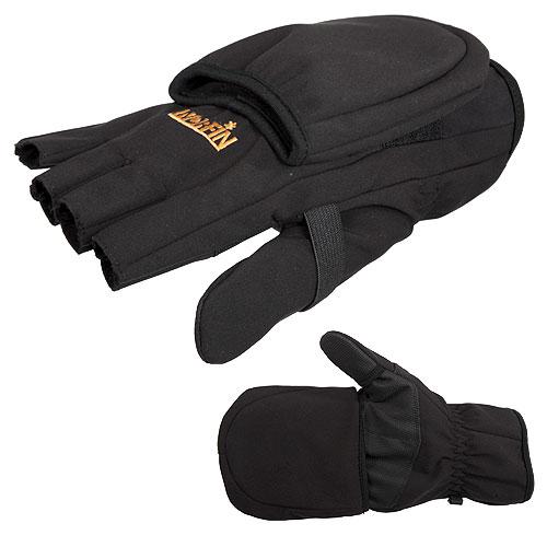Перчатки-Варежки Norfin Softshell Флис. (XL, 703061-XL)Перчатки-варежки<br>Перчатки-варежки Norfin SOFTSHELL флис. р.L разм.L/мат.95%полиэстер, <br>5% эластан. /подкладка: мат.полиэстер/варежки <br>отстег. Перчатки для прохладной погоды, <br>изготовлены из мембранного материала Soft <br>Shell, внутренняя часть которого флис.<br><br>Пол: мужской<br>Размер: XL<br>Сезон: зима<br>Цвет: черный