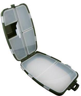Коробочка СЧ-5 с изолоном (7 отд.) (145*87*46мм)Коробки для приманок<br>Рыболовная коробочка для блесен и мормышек. <br>Предназначена для зимней рыбалки, внутри <br>изолон. Размер: 145x87x46 мм.<br>