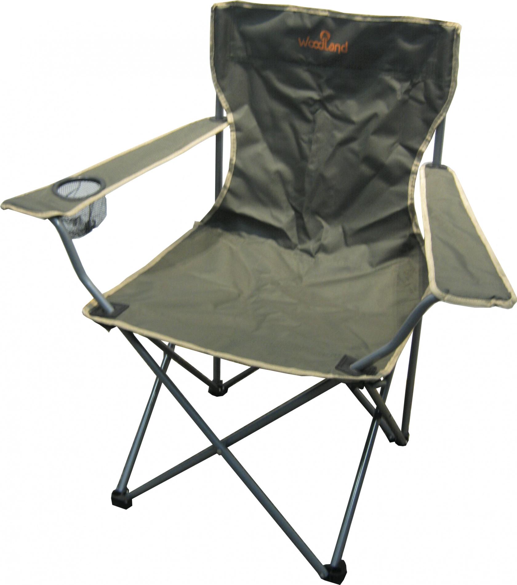 Кресло Woodland Holiday, складное, кемпинговое, Стулья, кресла<br>МОДЕЛЬ: Holiday МАТЕРИАЛЫ: Сталь ? 16 мм. Oxford <br>600D РАЗМЕР: 52 х 52 х 89 см. ВЕС: 2,2 кг. Компактная <br>складная конструкция. Прочный стальной <br>каркас, диметром 16 мм, с покрытием. Водоотталкивающее <br>ПВХ покрытие ткани Oxford 600D. Максимально допустимая <br>нагрузка 120 кг.<br>