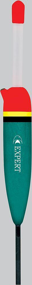 Поплавок EXPERT 204-08 (10,0gr) (19см) (10шт)Поплавки<br>поплавки для ловли с крупной наживкой или <br>живцом. Скользящие и с одной точкой крепления<br>
