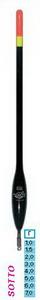 Поплавок BALSAX Sotto 1,5гр (5шт) (бальза)Поплавки<br>SOTTO - матчевый поплавок с толстой антенной <br>для скользящей оснастки. Предназначен для <br>ловли на матчевую удочку.<br>