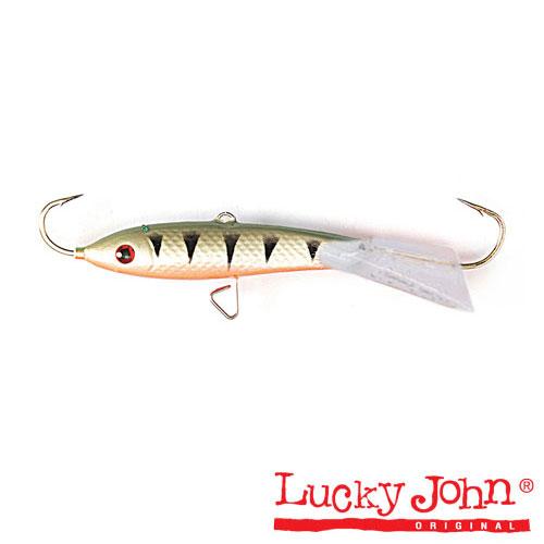 Балансир Lucky John Classic 7 70Мм/41Балансиры<br>Балансир Lucky John CLASSIC 7 70мм/41 расцв.41/дл.70мм/кол.в <br>уп.10 Балансир для ловли крупных хищных рыб <br>– судака и щуки, в том числе, на большой <br>глубине и в водоемах с течением. Длина приманки <br>70 мм. Так как приманка рассчитана на крупную <br>рыбу, рекомендуется использовать монофильную <br>леску диаметром от 0, 22 до 0,30 мм или «плетенку» <br>до 0,17 мм. Следует обратить внимание на модель <br>с расцветкой 36RT, где красный цвет преобладает. <br>Пассивную щуку в глухозимье, когда в водоемах <br>содержание кислорода в воде слиш ком мало, <br>можно соблазнить только этой нестандартной <br>расцветкой. При целенаправленной ловле <br>щуки обязательно используйте в оснастке <br>эластичный поводок.<br><br>Сезон: зима