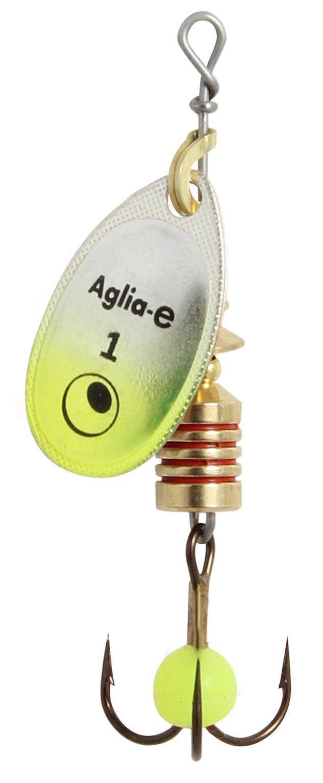 Блесна вращ. MEPPS Aglia E блистер №3 Chartreuse Bright mepps bug