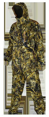 Костюм мужской Ирбис (Камыш) демисезон. Костюмы неутепленные<br>Костюм для охоты, рыбалки и активнго отдыха <br>в межсезонье. В комплект входит: куртка <br>и брюки. Изготовлен из современной ткани <br>«Windblok», имеющей трехслойную структуру. <br>Наружный слой - полар-флис, обработанный <br>водоотталкивающей пропиткой, внутренний <br>- флис, между ними - мембрана, которая скрепляет <br>оба слоя. Такая комплексная структура ткани <br>является оптимальной для защиты организма <br>человека от ветра, влаги и переохлаждения. <br>В условиях холодной и ветреной погоды костюм <br>«Ирбис» сохраняет больше тепла при меньшем <br>количестве нижней одежды и обеспечивает <br>потрясающую свободу движений. Под такой <br>костюм достаточно одеть термобелье и Вы <br>будете комфортно себя чувствовать поздней <br>осенью на ходовой или загонной охоте. В <br>местах истирания нашиты дополнительные <br>защитные элементы из плотной ткани. При <br>изготовлении швейных изделий применяются <br>высокопрочные нитки Guterman (Германия), двойной <br>джинсовый запошивочный шов. Комфортная <br>температура эксплуатации от -5°С до +10°С<br><br>Сезон: демисезонный
