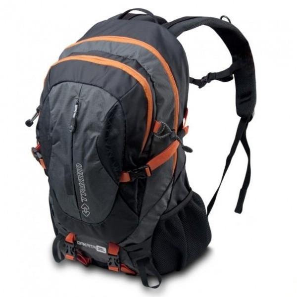 Рюкзак Trimm Adventure DAKATA 35, 35 литров, черныйРюкзаки<br>Описание рюкзака Trimm Adventure DAKATA 35: Рюкзак <br>совместим с питьевой системой, что сделает <br>Ваш поход комфортным. Оборудован несколькими <br>карманами на молниях для хранения ценных <br>вещей и карт, а также прочего тематического <br>снаряжения на петлях. Есть петли для ледорубов. <br>Рюкзак Trimm Dakata оснащен: - двумя боковыми <br>карманами; - усиленным дном; - карманами <br>на поясе; - петли для ледорубов; - дождевиком; <br>- передним карманом; - креплениями для воды; <br>- компрессионными стяжками.<br>