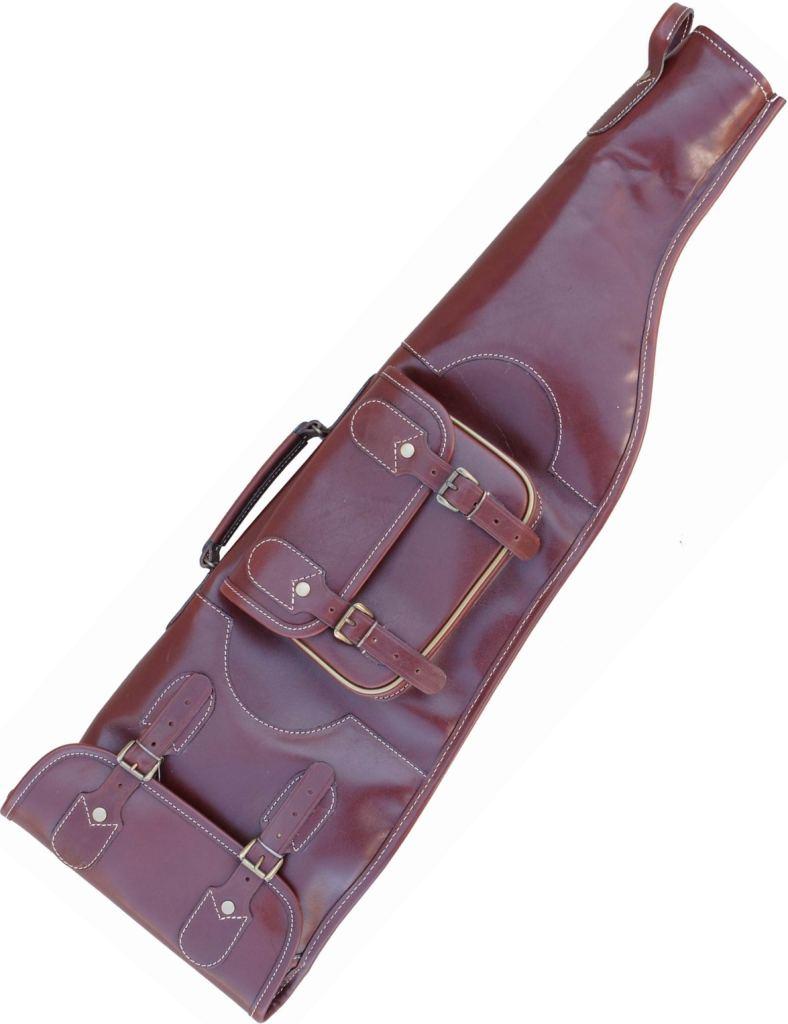 Чехол ружейный («ИЖ 27» футляр с нат. мехом • 79 см (VIP) )