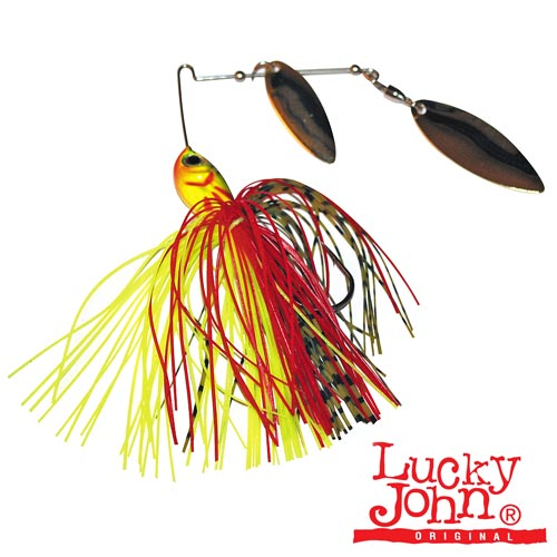 Спиннербейт Lucky John Spinner Bait Painted Blade 14.0Г 06