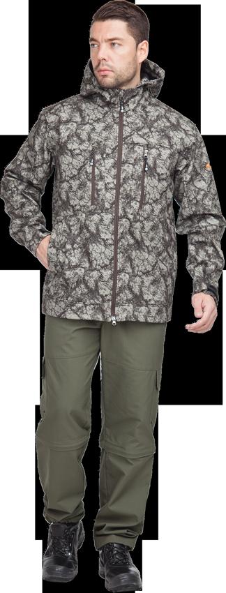 Куртка тактическая Тегерек демисезон.тк. Куртки софтшелл (Softshell)<br>Тактическая куртка из утеплённого мембранного <br>софтшелла. Прекрасно подходит для аутдора <br>и повседневного ношения в городе. Рассчитана <br>на холодную погоду, прекрасно защищает <br>от ветра и легких осадков. На всех внешних <br>молниях длинные ухватки из шнура с фирменным <br>наконечником. Ухватки плоские и мягкие, <br>не давят при надетом поверх куртки снаряжении. <br>На всех внешних молниях в застегнутом положении <br>замок прячется под эластичную «ловушку» <br>из ткани для надежности и защиты от загрязнения <br>Воротник достаточно широкий и высокий для <br>использования в комплексе с флисовой курткой. <br>Форма капюшона рассчитана на удобное ношение <br>поверх бейсболки или флисовой шапки совместно <br>с активными стрелковыми наушниками. Полужесткий <br>козырек. Специальная форма выреза вокруг <br>лица и его утяжка не нарушают боковое зрение, <br>свободные концы шнура выводятся внутрь <br>куртки. На затылке расположена регулировка <br>капюшона по объёму с помощью эластичного <br>шнура. Края манжет регулируются липучкой, <br>прочные паты целиком из резиноподобного <br>материала Покрой обеспечивает беспрепятственное <br>движение руками вверх, куртка не задирается <br>Утяжка по низу с помощью фиксаторов, расположенных <br>по бокам куртки Центральная молния куртки <br>двухзамковая (можно расстегнуть снизу Подмышками <br>отверстия для вентиляции. Цвет: камуфляж <br>Ткань верха :Ткань верха: «Софтшелл» 100% <br>полиэфир — мембрана — флис Мембрана: сопротивление <br>давления водяного столба (W/P) 10000 мм; Куртка <br>• застёжка на двухзамковую молнию • капюшон <br>с регулировкой по высоте и ширине • нагрудные <br>карманами с застёжкой на молнию • нижние <br>карманы с листочкой • внутренний нагрудный <br>карман с застежкой на тесьму-молнию • низ <br>рукава с патой и лентой-контакт для регулировки <br>объёма • вентиляционные отверстия в пройме<br><br>Пол: мужской<br>Размер: 48-50<br>Рост: 170-1