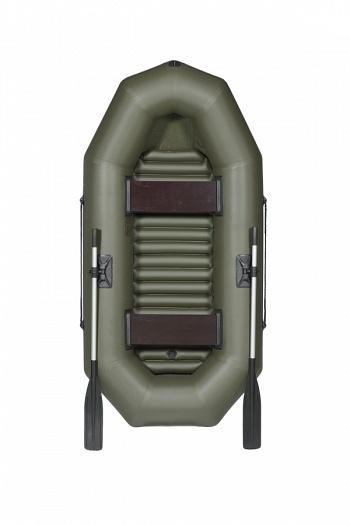 Лодка гребная Лоцман Профи С-240-М НД (вкладное Лодки гребные<br>Надувная лодка «Лоцман С-240-М НД» предназначена <br>для прогулок, туризма, рыбной ловли на реках, <br>озерах, в прибрежной зоне морей и водохранилищ. <br>В производстве использована 5-слойная армированная <br>ПВХ ткань: на баллонах - плотностью 650 г/м2, <br>на днище – не менее 750 г/м2 финской компании <br>Scantarp, комплектующие собственного производства. <br>Цвет лодок зеленый, серый. Сиденье изготовлено <br>из ламинированной фанеры повышенной водостойкости. <br>Гарантия на лодки один год со дня продажи. <br>Не требуют регистрации в ГИМС. Технические <br>характеристики лодки: Длина, см: 220 Ширина, <br>см: 116 Диаметр баллона, см: 33 Количество надувных <br>отсеков, шт.: 2 Пассажировместимость, чел.: <br>2 Грузоподъёмность, кг: 170 Габаритные размеры <br>сумки, см: 90*40*30 Масса в комплекте, не более, <br>кг: 15,5 Комплектация: поворотная уключина <br>– 2, мех объёмом 5 л. – 1, ЗИП (клей туба 30 гр.) <br>– 1, сумка упаковочная – 1, надувное дно <br>вкладное – 1, сиденье – 2, весло алюминиевое <br>– 2.<br>