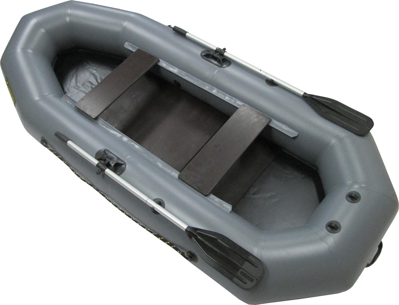 Лодка ПВХ Компакт-280 гребная (С-Пб) (крепление Лодки гребные<br>«Компакт-280» - комплектуется фанерным настилом <br>6,5 мм - 3 отдельные части пола. В базе установлен <br>крепеж транца для небольшого мотора. ПВХ- <br>материал 700 гр., большие уключины, стандартные <br>весла, фанерные банки 18мм., помпа насос 5 <br>литров, малый вес, доступная цена. Новая <br>упаковка из прочного ПВХ материала «Рюкзак-гермобаул». <br>Длина мм 2800 Ширина мм 1200 Диаметр баллона <br>мм 35 Пассажировместимость человек 2 Грузоподъемность <br>кг 220 Масса изделия в комплекте кг 17,5 Количество <br>отсеков отсек 2+1 Кокпит м.: 2,15х0,53<br>