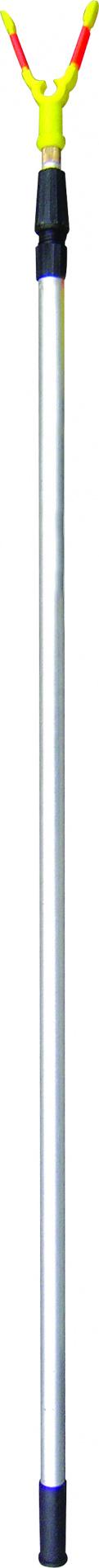 Подставка д/удочки SWD тел 1,8м (съемн.гол.,AL)(7410025)Держатели удочек, подставки, стойки<br>Телескопическая подставка для удилища. <br>Рабочая длина 0,9-1,8м, материал изготовления <br>стойки - алюминий. Удилищедержатель- съемный.<br>