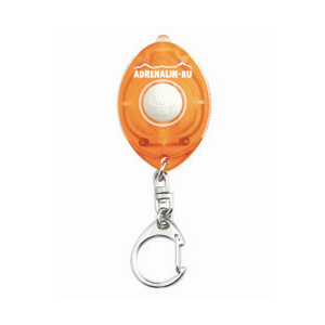 Компактный светодиодный фонарик Adrenalin Грузила<br>Компактный светодиодный фонарик Adrenalin <br>Ultima Sparkle Y поможет найти замочную скважину <br>на двери в темном подъезде, затерявшуюся <br>на земле или в рюкзаке вещь.<br>