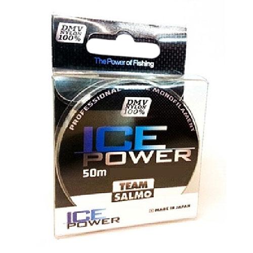 Леска Монофильная Team Salmo Ice Power 50/008Леска монофильная<br>Леска моно. Team Salmo ICE POWER 050/008 дл.50м/д.0.082мм/тест <br>0.521кг/цв. прозр./инд уп. Леска последнего <br>поколения, идеально калиброванная по всей <br>длине, с точностью, определяемой до третьего <br>знака. Материал, из которого изготовлена <br>леска, обладает повышенной абразивной устойчивостью <br>и не взаимодействует с водой, поэтому на <br>морозе не теряет своих физических свойств, <br>что значительно увеличивает срок её службы. <br>У лески отсутствует память, поэтому в процессе <br>эксплуатации она не деформируется. Низкий <br>коэффициент растяжимости делает делает <br>леску максимально чувствительной, при этом <br>она практически незаметна для рыбы. Леска <br>производится в Японии с использованием <br>самого высококачественного сырья и новейших <br>технологий.<br><br>Сезон: зима<br>Цвет: прозрачный
