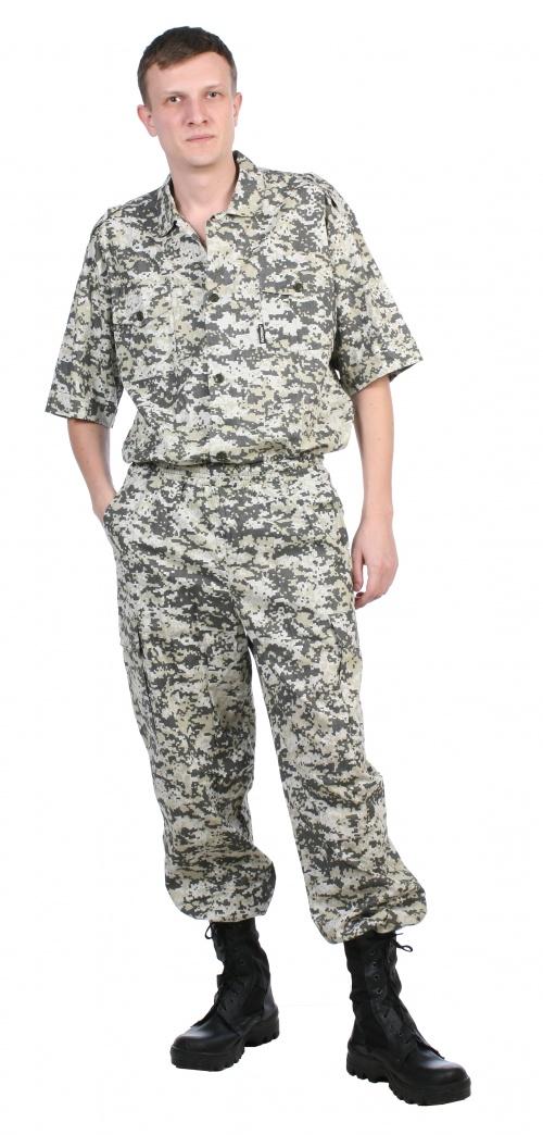 Рубашка мужская Сафари 100% хлопок (48-50, Рубашки тактические<br>Легкая мужская рубашка для отдыха на природе. <br>Ткань 100% хлопок (бязь). Плотность 135г/кв.м. <br>Два накладных кармана.<br><br>Пол: мужской<br>Размер: 48-50<br>Рост: 182-188<br>Сезон: лето<br>Материал: хлопок