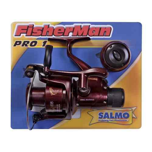 Катушка Безынерционная Fisherman Pro 1 30 RdБезынерционные<br>Катушка безынерц. Salmo Fisherman PRO 1 30 RD RD/320г/5.2:1/1+1подшип./100м-0.30мм <br>• Тормоз фрикционный задний • передаточное <br>число 5.2:1 • 1 подшипник шариковый • 1 подшипник <br>роликовый • Корпус карбопластовый • Шпуля <br>основная пластиковая (графитовая) • Шпуля <br>дополнительная пластиковая (графитовая) <br>• Рукоятка сбалансированная: – с винтовым <br>типом фиксации – с возможностью право/левосторонней <br>установки<br><br>Сезон: лето