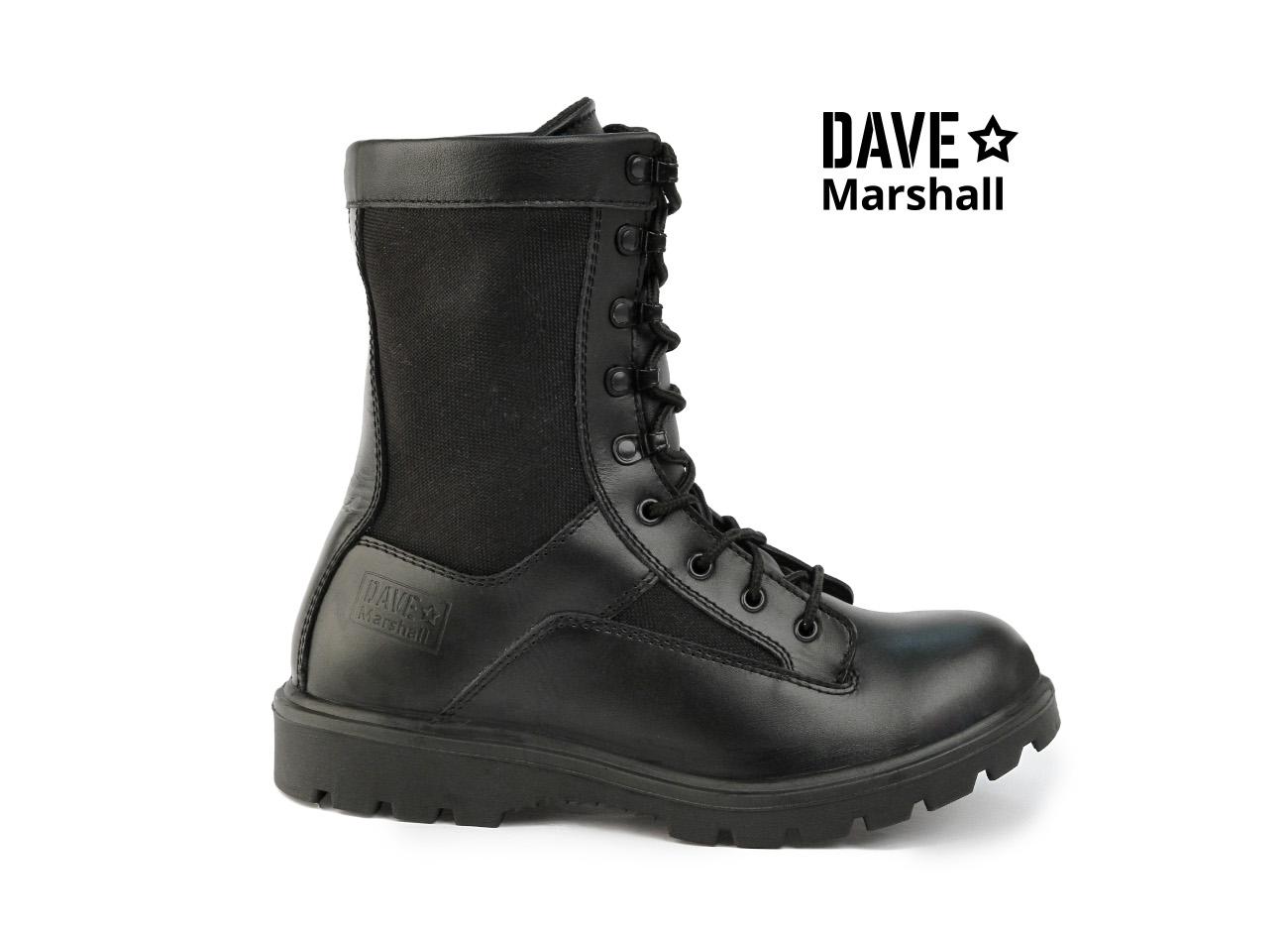 Ботинки кожаные облегченные с высокими Берцы<br><br><br>Пол: мужской<br>Размер: 41<br>Сезон: лето<br>Цвет: черный