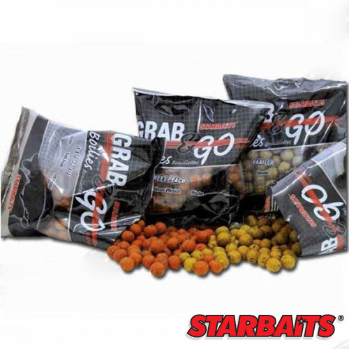 Бойли Тонущие Starbaits Performance Baits Grab & Go Strawberry 10Мм 0.5Кг