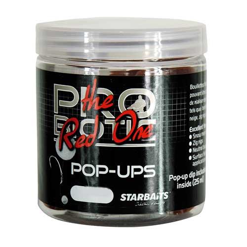 Бойли Плавающие Starbaits Probiotic Red Pop Up 14Мм 0.06КгБойли<br>Бойли плав. Starbaits PROBIOTIC Red Pop Up 14мм 0.06кг 14мм/плавающие/0,06кг/в <br>уп.6шт. Эти бойлы красного цвета состоят <br>из натуральных ингредиентов и производных. <br>Все используемые ингредиенты самого высочайшего <br>качества. Этот спектр приманок для ловли <br>карпа, в состав которых входят чистые природные <br>аттрактанты, мгновенно привлекает рыбу <br>и продолжает работать в течение длительного <br>периода.<br><br>Сезон: лето