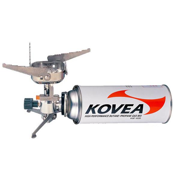 Горелка газовая Kovea TKB-9901Горелки<br>Горелка-тренога специально для людей, которые <br>используют только цанговые газовые баллоны. <br>Горелка подключается непосредственно к <br>баллону, располагающемуся горизонтально. <br>При горении образует мощный вертикальный <br>столб пламени. При транспортировке компактно <br>складывается в пластиковый кофр. Оснащена <br>пъезоподжигом. Резьбовые баллоны с этой <br>горелкой использовать невозможно.<br>