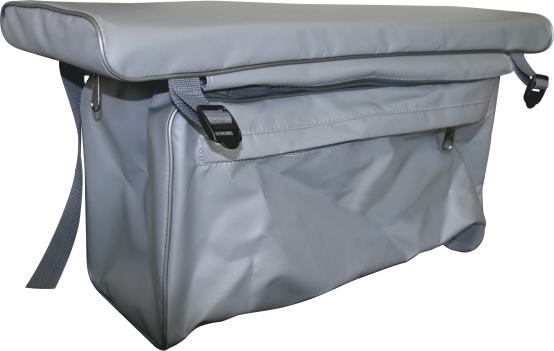 Мягкая накладка на банку с сумкой 70/20 (Тайга-270. Накладки на банки мягкие<br>Мягкая накладка на банку с сумкой. Размер <br>накладки 70 см на 20 см для лодок Тайга-270. <br>290. Лидер-280. 320.<br>