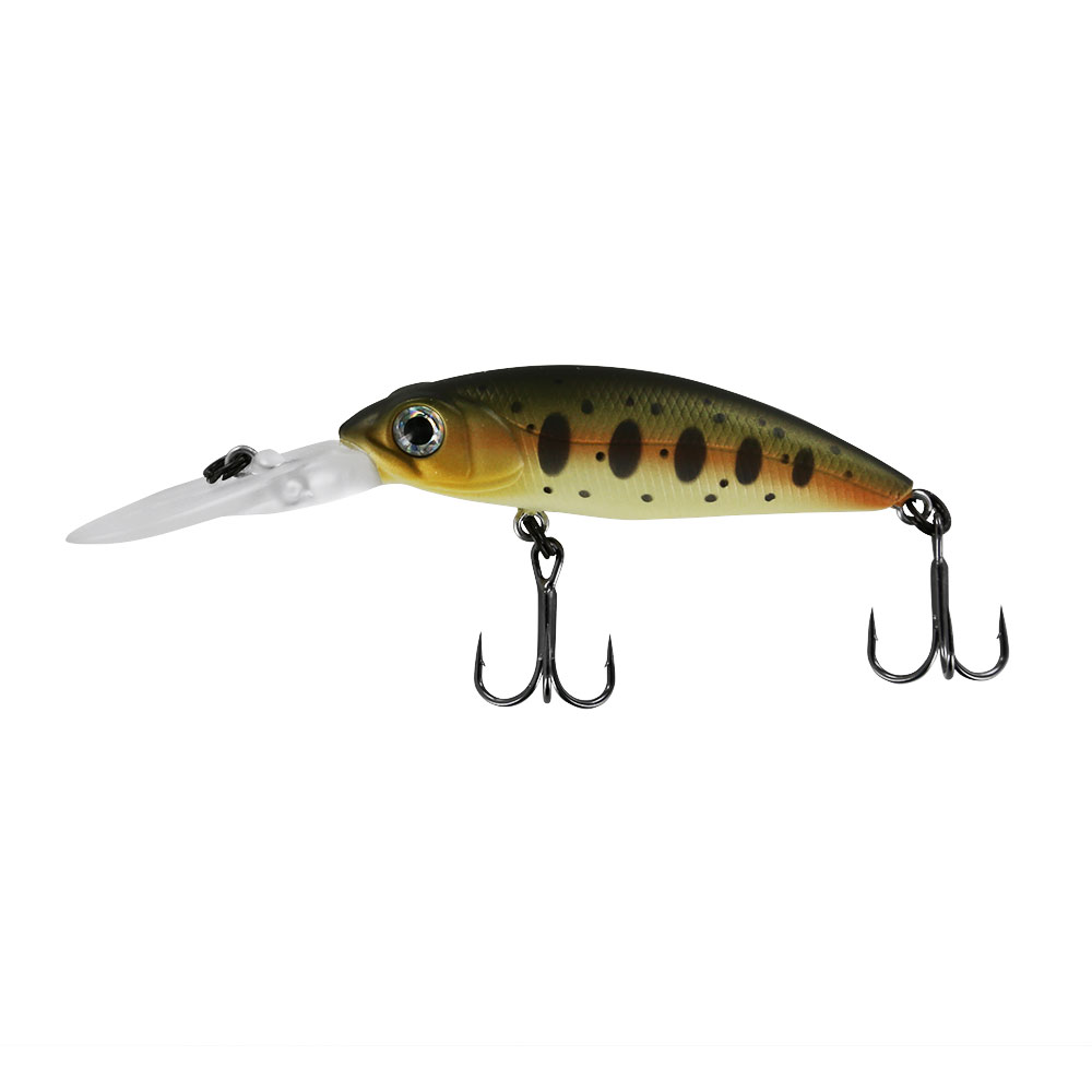 Воблер Tsuribito Deep Shad 55F, цвет 089 (арт. 34508)Воблеры<br>Серия воблеров Deep Shad предназначена для <br>ловли хищных видов рыб на мелководных бровках.<br>