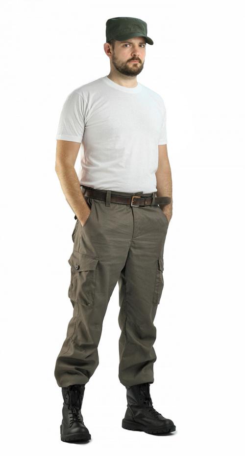 Брюки мужские Капрал Твилл Пич ТАБАК Брюки неутепленные<br>-два врезных кармана и два накладных объемных <br>кармана с клапаном на липучке. -пояс со шлевками <br>под широкий ремень -центральная застежка <br>на молнию -низ брюк регулируется<br><br>Пол: мужской<br>Размер: 52-54<br>Рост: 170-176<br>Сезон: лето<br>Цвет: оливковый